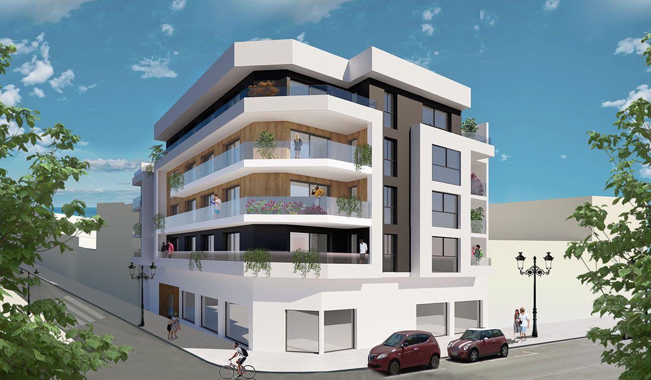 Ref:HA-GUN-320-A02 Single storey apartment For Sale in Guardamar del Segura