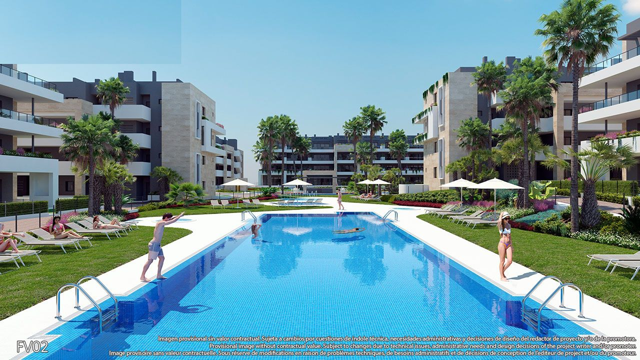 Ref:HA-PFN-100-A01 Single storey apartment For Sale in Playa Flamenca
