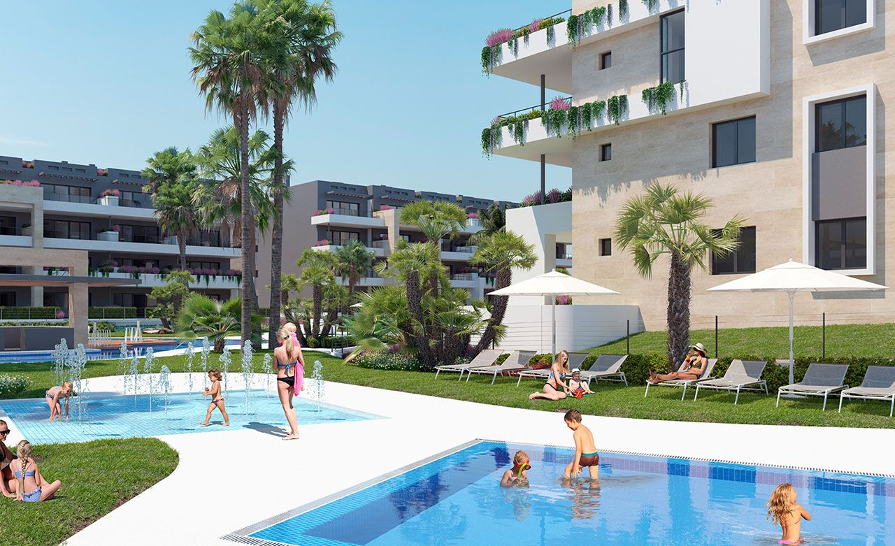 Ref:HA-PFN-100-A03 Single storey apartment For Sale in Playa Flamenca