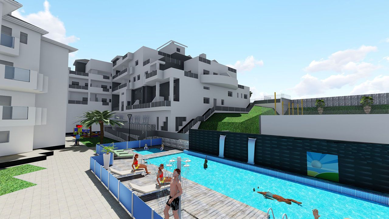 Ref:HA-OCN-910-A04 Single storey apartment For Sale in Orihuela Costa